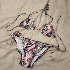 Victoria's Secret Patterned Bikini